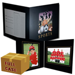 C91  All Sports 5x7 & 7x5 Memory-Mate Folder Case- 250
