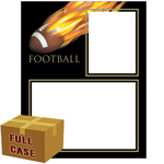 C82 Football Fireball Memory-Mates 3ply Case of 250