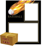 C83-3 Baseball Fireball Memory-Mates 3ply Full Case of 20