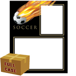 C84 Soccer Fireball Memory-Mates 3ply Case of 250