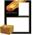 C85  Basketball Fireball Memory-Mates 3ply Case Of 250
