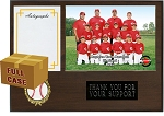 AP00 12x9 Exclusive Plaque W/ Autograph Card for 7x5 Photo Slip-in Acrylic Case of 20
