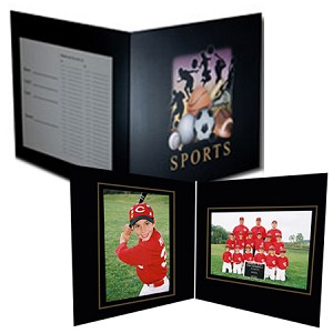 C91 All Sports 5x7 & 7x5 Memory-Mate Folder Case- 100