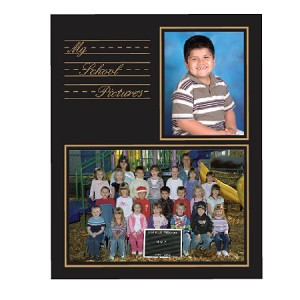 My School Year Gold Foil Memory Mate Frame