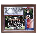 261 12x9 Digital Memory Mate Plaque with 10x8 Slip-in Acrylic
