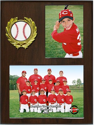 A100 9x12 Slip-in Acrylic 3.5x5 ind. and 7x5 team Memory Mate Plaque Case of 20